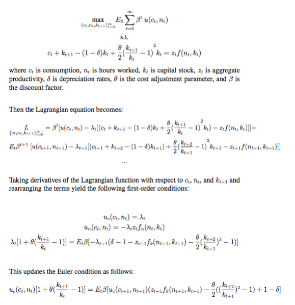 MATLAB & DYNARE | Perform stochastic simulations of RBC model – BAO